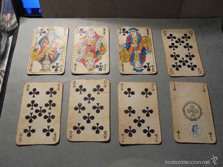 ANTIGUA BARAJA FRANCESA S. XX PARA JUGAR AL JUEGO DEL BELOTE , PIQUET , MANILLE 32 CARTAS COMPLETA (Juguetes y Juegos - Cartas y Naipes - Baraja Española)