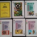 Barajas de cartas: BARAJA LOTERIA NACIONAL 1982 TEMA MUNDIAL DE FUTBOL 1982, SIN USAR. Lote 56096407