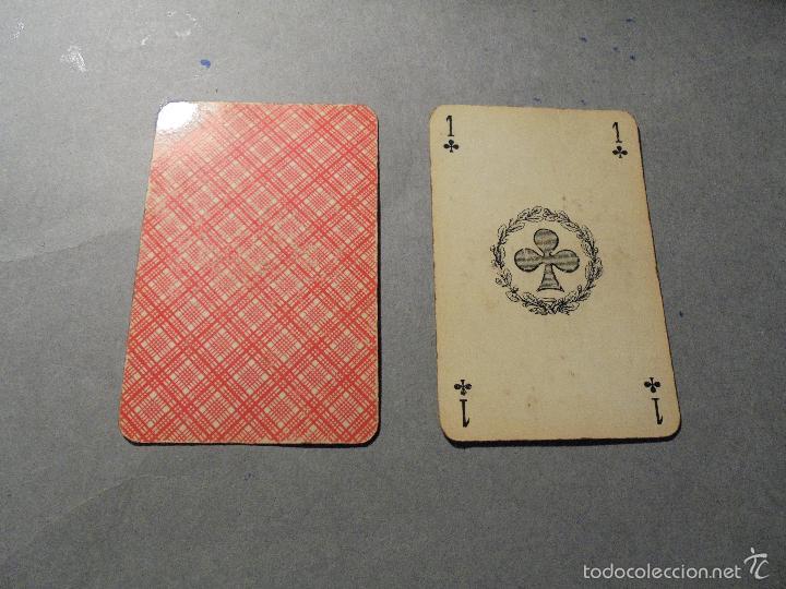 Barajas de cartas: ANTIGUA BARAJA FRANCESA S. XX PARA JUGAR AL JUEGO DEL BELOTE , PIQUET , MANILLE 32 CARTAS COMPLETA - Foto 7 - 56117320