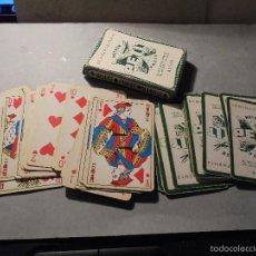 Barajas de cartas: ANTIGUA BARAJA FRANCESA S. XX PARA JUGAR AL JUEGO DEL BELOTE , PIQUET , MANILLE 32 CARTAS COMPLETA. Lote 56117447