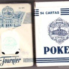 Barajas de cartas: BARAJA DE CARTAS DE POKER HERACLIO FOURNIER SIN ESTRENAR PUBLICITARIA. Lote 56169973