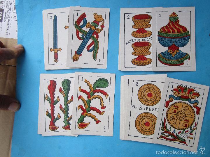 Barajas de cartas: la hispano americana marcas el toro legitima loba, la flory dos mundos 1er superfino n.5, baraja ant - Foto 3 - 56171846