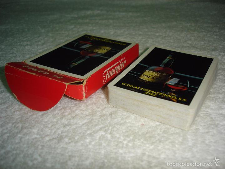 Barajas de cartas: BARAJA CARTAS POKER, HERACLIO FOURNIER - BRANDY SOLARON (BODEGAS INTERNACIONALES) . 54 NAIPES. - Foto 5 - 56264110