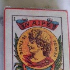 Barajas de cartas: BARAJA VICTORIA ARGENTINA SIGLO XIX. Lote 56277421