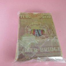 Barajas de cartas: (C)-BARAJA-POKER/BRIDGE-HERACLIO FOURNIER-TURISMO 202-CAJA ROTA-CARTAS EN BUEN ESTADO-VER FOTOS.. Lote 56303105