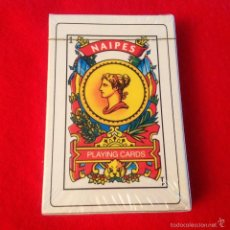Barajas de cartas: BARAJA, CARTAS, NAIPES, PLAYING CARDS, MADE IN CHINA. PRECINTADAS A ESTRENAR.. Lote 56310747