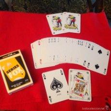 Barajas de cartas: BARAJA, NAIPE BÉLGICA, CARTAS BELGAS, CARTAMUNDI, 55 CARTAS, FNAC, BIEN CONSERVADA, VER FOTOS.. Lote 56310832