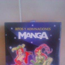 Barajas de cartas: CARTAS DE TAROT MANGA , RITOS Y ADIVINACIONES , MARIA DEL POZO , EDITORIAL LIBSA .2007. Lote 56321535