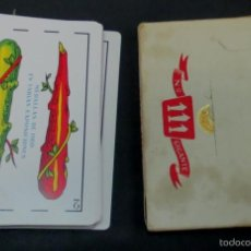 Barajas de cartas: BARAJA GIGANTE Nº 111 HERACLIO FOURNIER COMPLETA. Lote 56392285