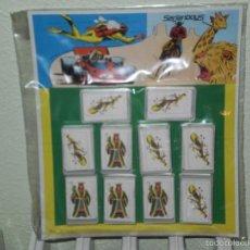 Barajas de cartas: LOTE UNICO EN TC !! EXPOSITOR CON 10 BARAJAS DE PLIEGO , TIPICAS QUIOSCO AÑOS 70 . SERJANBOYS. Lote 56512912
