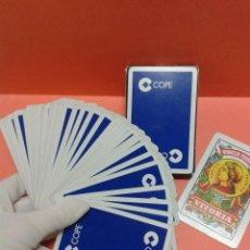 Barajas de cartas: BARAJA ESPAÑOLA 40 CARTAS FOURNIER PUBLICIDAD CADENA COPE. Lote 56520746