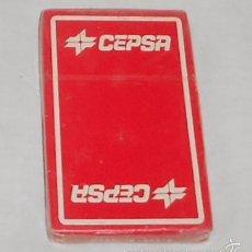 Barajas de cartas: BARAJA FOURNIER CON PUBLICIDAD DE CEPSA, PRECINTADA. Lote 56531109
