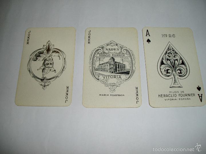 Barajas de cartas: BARAJA DE HIJOS DE HERACLIO FOURNIER.DE VITORIA - Foto 4 - 51013774