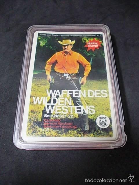 BARAJA DE CARTAS ALEMANA WAFFENDES WILDEN WESTENS (Juguetes y Juegos - Cartas y Naipes - Otras Barajas)