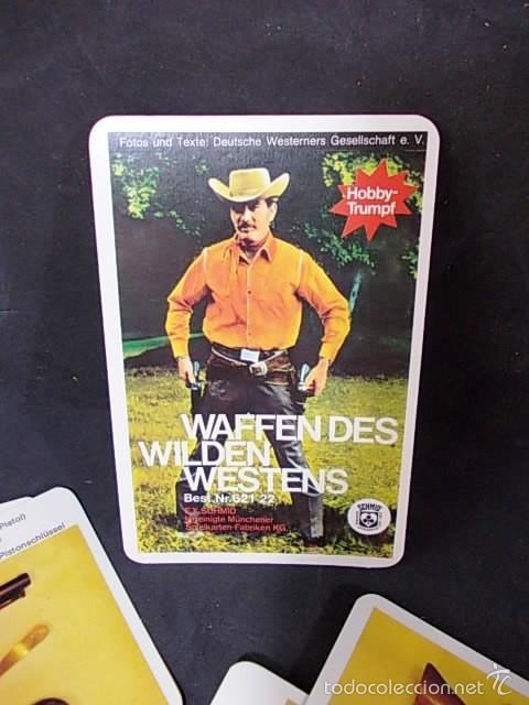 Barajas de cartas: BARAJA DE CARTAS ALEMANA WAFFENDES WILDEN WESTENS - Foto 4 - 56573731