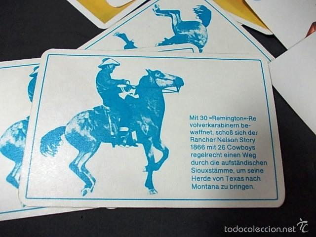 Barajas de cartas: BARAJA DE CARTAS ALEMANA WAFFENDES WILDEN WESTENS - Foto 8 - 56573731