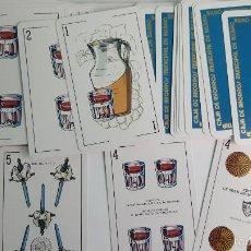 Barajas de cartas: BARAJA VASCA CAJA DE AHORROS COMPLETA . Lote 56605940