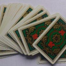 Barajas de cartas: BARAJA DE CARTAS POKER, PUBLICIDAD HERACLIO FOURNIER . J-B, COMPLETA. Lote 56666860
