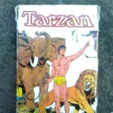 Barajas de cartas: BARAJA TARZAN (FOURNIER, 1979) - CARTAS SIN USO - INCLUYE INSTRUCCIONES. Lote 56671588