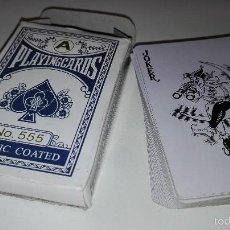 Mazzi di carte: 918- BARAJA CARTAS POKER Nº555 PLASTIC COATED. Lote 56740894