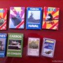 Barajas de cartas: LOTE 8 BARAJAS DE FOURNIER TEMÁTICA MILITAR Y EJERCITO. Lote 56807120