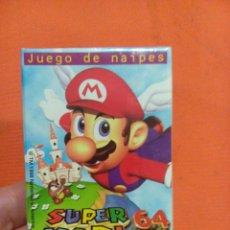 Barajas de cartas: BARAJA DE CARTAS SUPER MARIO 64 . Lote 56825591