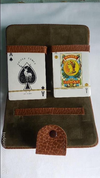 BARAJA DE NAIPES COMAS PRECINTADAS EN ESTUCHE (Juguetes y Juegos - Cartas y Naipes - Otras Barajas)