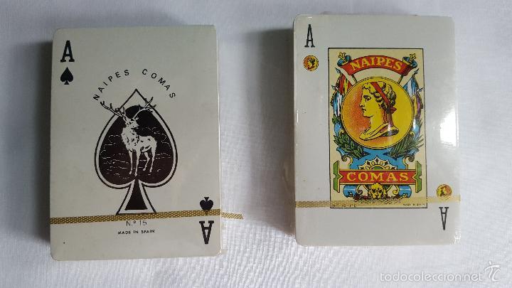 Barajas de cartas: Baraja de naipes Comas precintadas en estuche - Foto 2 - 56923046