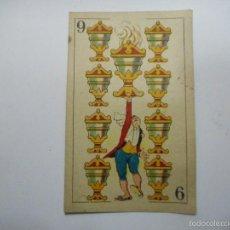 Barajas de cartas: NAIPE BARAJA DE CARTAS DE THE Y ELIXIR PUJOL. Lote 56972202