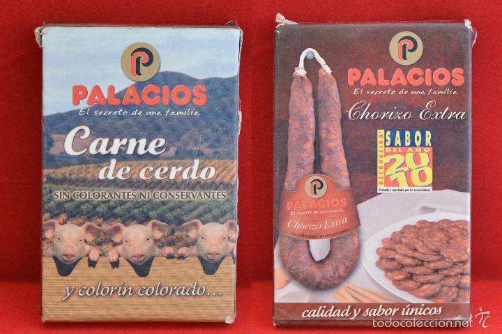 BARAJA CARTAS PUBLICIDAD CARNE DE CERDO CHORIZO EXTRA PALACIOS (Juguetes y Juegos - Cartas y Naipes - Baraja Española)