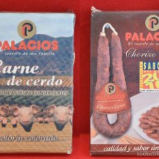 Barajas de cartas: BARAJA CARTAS PUBLICIDAD CARNE DE CERDO CHORIZO EXTRA PALACIOS. Lote 57021791