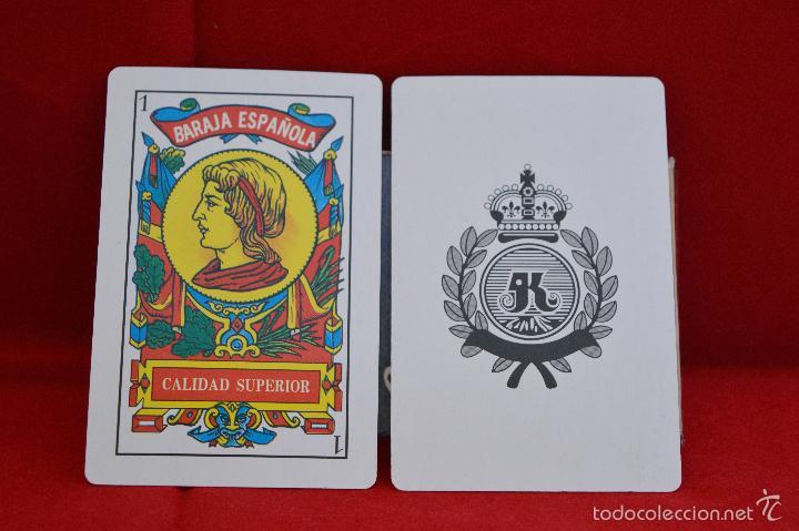 Barajas de cartas: BARAJA CARTAS PUBLICIDAD CARNE DE CERDO CHORIZO EXTRA PALACIOS - Foto 2 - 57021791