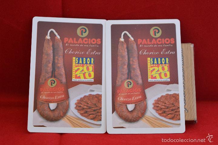 Barajas de cartas: BARAJA CARTAS PUBLICIDAD CARNE DE CERDO CHORIZO EXTRA PALACIOS - Foto 3 - 57021791