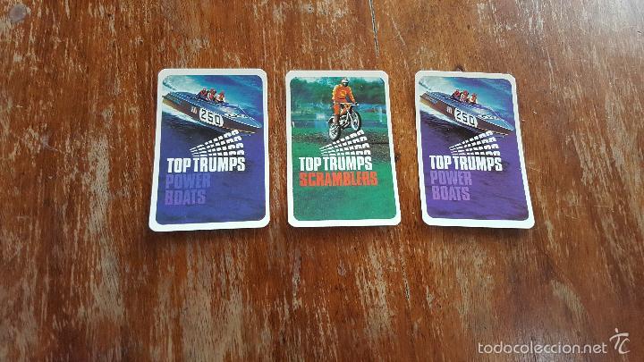 LOTE CARTAS TOP TRUMPS (Juguetes y Juegos - Cartas y Naipes - Otras Barajas)