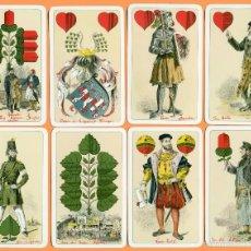 Barajas de cartas: LEIPZIG MESSEKARTE. JUEGO DE NAIPES/PLAYING CARDS/JEU DE CARTES/SPIELKARTEN.. Lote 57121713