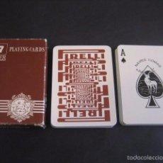 Barajas de cartas: BARAJA POKER COMAS. PUBLICIDAD NEUMATICOS PIRELLI. Lote 57140978