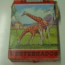 Barajas de cartas: BARAJA DE CARTAS FOURNIER ANIMALES VERTEBRADOS ,CON INSTRUCCIONES.. Lote 57148713