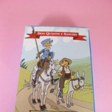 Barajas de cartas: *9951-ANTIGUA BARAJA INFANTIL-DON QUIJOTE-NAIPE ESPAÑOL-NUEVA-50 CARTAS-VARITEMAS S.L.-VER FOTOS.. Lote 57152382