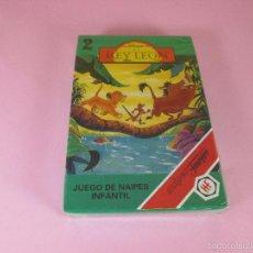 Barajas de cartas: *9952-ANTIGUA BARAJA/CARTAS/NAIPES-EL REY LEÓN 2-HERACLIO FOURNIER-DISNEY-NUEVA-PRECINTADA-VER FOTOS. Lote 94660728