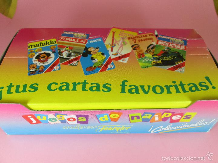 Barajas de cartas: *9952-ANTIGUA BARAJA/CARTAS/NAIPES-EL REY LEÓN 2-HERACLIO FOURNIER-DISNEY-NUEVA-PRECINTADA-VER FOTOS - Foto 2 - 94660728