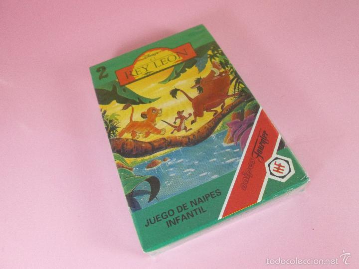 Barajas de cartas: *9952-ANTIGUA BARAJA/CARTAS/NAIPES-EL REY LEÓN 2-HERACLIO FOURNIER-DISNEY-NUEVA-PRECINTADA-VER FOTOS - Foto 3 - 94660728