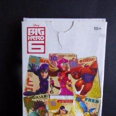 Barajas de cartas: BARAJA FOURNIER BIG HERO 6 - EL JUEGO DEL BURRO. Lote 57227663