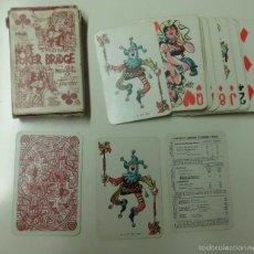 Barajas de cartas: BARAJA FOURNIER VITORIA POKER BRIDGE POR MINGOTE .. Lote 57470723