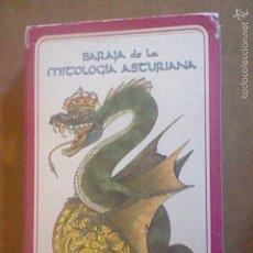 Barajas de cartas: BARAJA ED URRIELLU MITOLOGIA ASTURIANA ILUST. ALBERTO ALVAREZ LEER CARTES ASTURIANES. Lote 194619183
