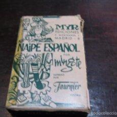 Barajas de cartas: MINGOTE - NAIPE ESPAÑOL BARAJA DE CARTAS MYR EDICIONES - HERACLIO FOURNIER. Lote 57492722