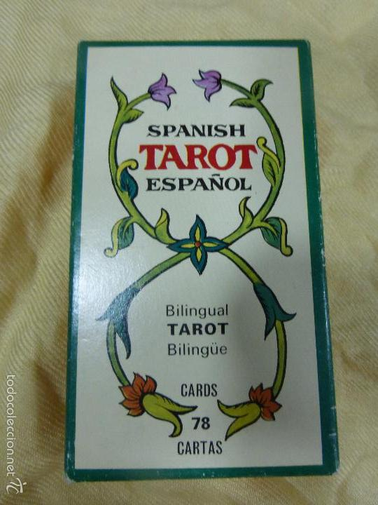 SPANISH TAROT ESPAÑOL BILINGÜE-HERACLIO FOURNIER-COMPLETO-PRECINTADO-EN BUEN ESTADO DE CONSERVACIÓN (Juguetes y Juegos - Cartas y Naipes - Barajas Tarot)