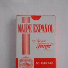 Barajas de cartas: BARAJA DE CARTAS ESPAÑOLA. NAIPES FOURNIER. COMYTEL SERVICIOS INTEGRALES DE TELEFONÍA. TDKC37. Lote 57573401