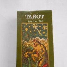 Barajas de cartas: TAROT CLASICO 1880. ORBIS FABBRI. RBA. 80 CARTAS. TDKC37. Lote 115556186
