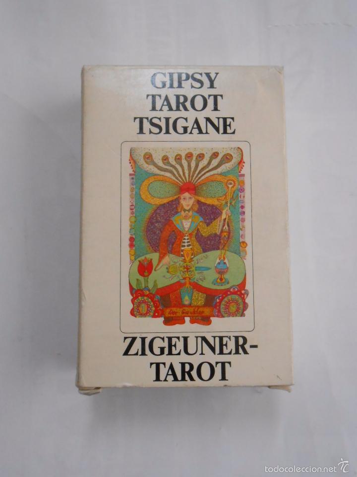 BARAJA DE CARTAS GIPSY TAROT TSIGANE ZIGEUNER TAROT SWITZERLAND 1982. TDKC37 (Juguetes y Juegos - Cartas y Naipes - Barajas Tarot)