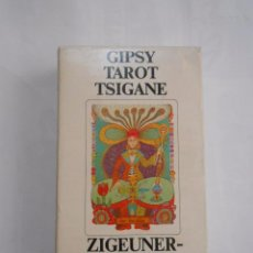 Barajas de cartas: BARAJA DE CARTAS GIPSY TAROT TSIGANE ZIGEUNER TAROT SWITZERLAND 1982. CAR174. Lote 195364608